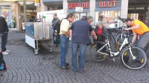 Fahrradwaschanlage 2014