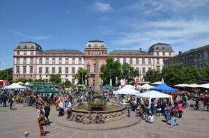 Markplatz Darmstadt, 02.06.2013