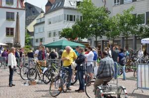 Fahrradflohmarkt 2013